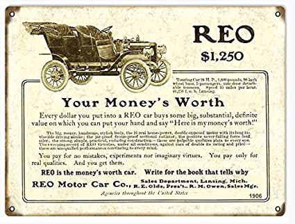 Amazon Com Reo Motor Co Classic Car Advertisement Reproduction