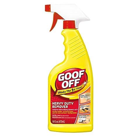 Goof Off - Desengrasante y quitamanchas con pulverizador ...