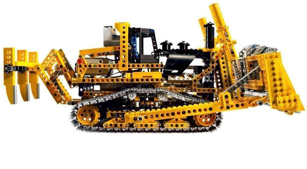 LEGO Technic 8275: Motorized Bulldozer: Amazon.co.uk: Toys & Games