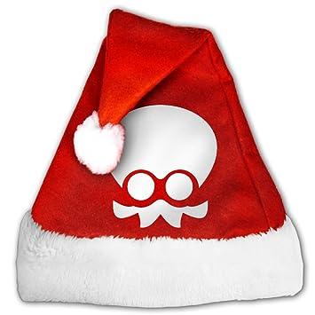Splatoon Squid Logo Fashion decoración Navidad Santa Claus sombreros rojo para adultos y niños: Amazon.es: Hogar