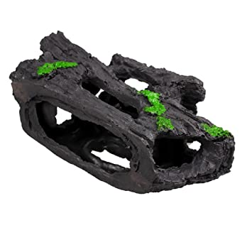 Amazon.com : Oksale® Aquarium Fish Tank Simulation Polyresin Rockery Hiding Cave Artificial Creature Ornament Decor Landscape : Pet Supplies