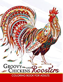 Amazon.com: Creative Chickens Coloring Book (9781537193656): Kerrie ...