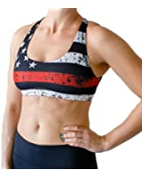 Thin Red Line Vitality Sports Bra (Firefighter Edition)