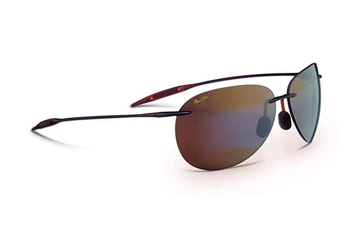 79e179be6 Maui Jim H421-26 Rootbeer Sugar Beach Oval Sunglasses Polarised Golf,  Cycling,: Maui Jim: Amazon.co.uk: Clothing