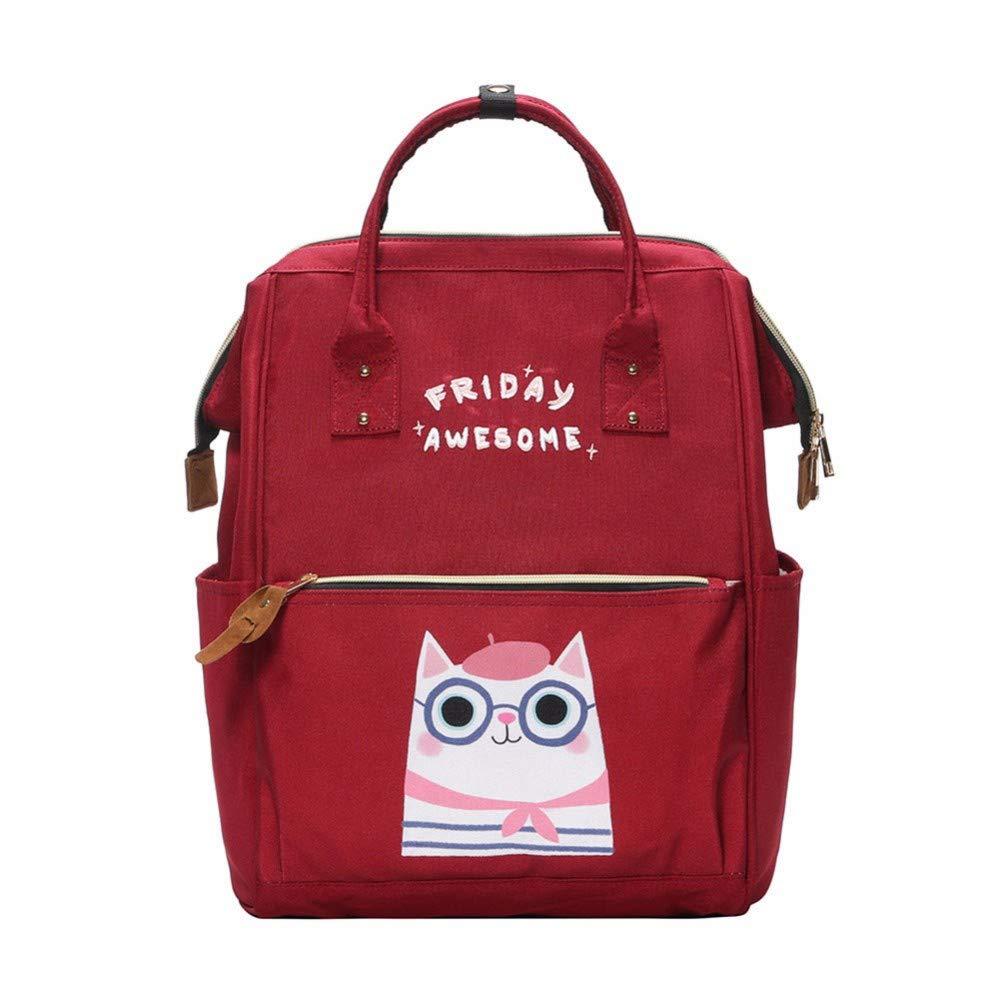 BAONBAON Umhängetasche Collegewind des süßen mittleren Schultasche der weiblichen Tasche des zufälligen netten Rucksacks weiblicher Reisetasche B07PKMFBYB   Öffnen Sie das Interesse und die Innovation Ihres Kindes, aber auch die Unsch