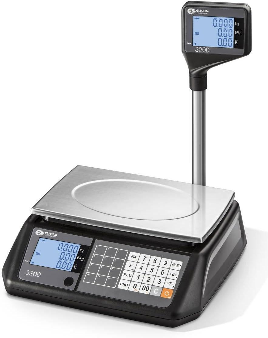 elicom Precio rechnungs Báscula S 200 L de rango de pesaje de 6 3 ...