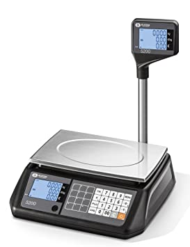 elicom Precio rechnungs Báscula S 200 L de 30 – Rango de pesaje 15/30