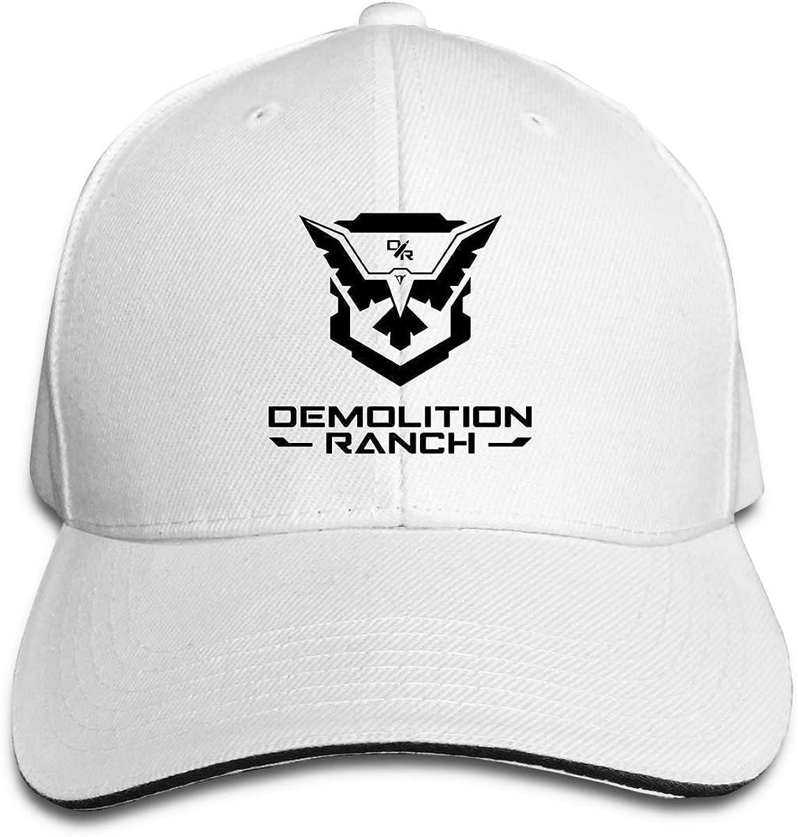 Demolition Ranch Caps Sports Trucker Caps Pattern Strapback Hat for Men//Women