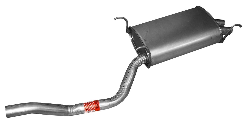 Walker 55469 Quiet-Flow Stainless Steel Muffler Tenneco
