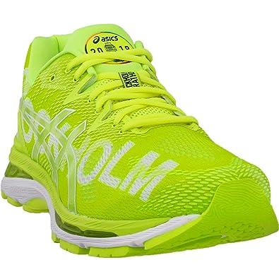 ASICS Gel-Nimbus 20 Stockholm Men's Running Shoe, Stockholm/2018/Flash  Yellow, 9.5 M US