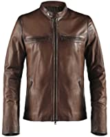 Soul Revolver Cafe Racer Mens Leather Jacket