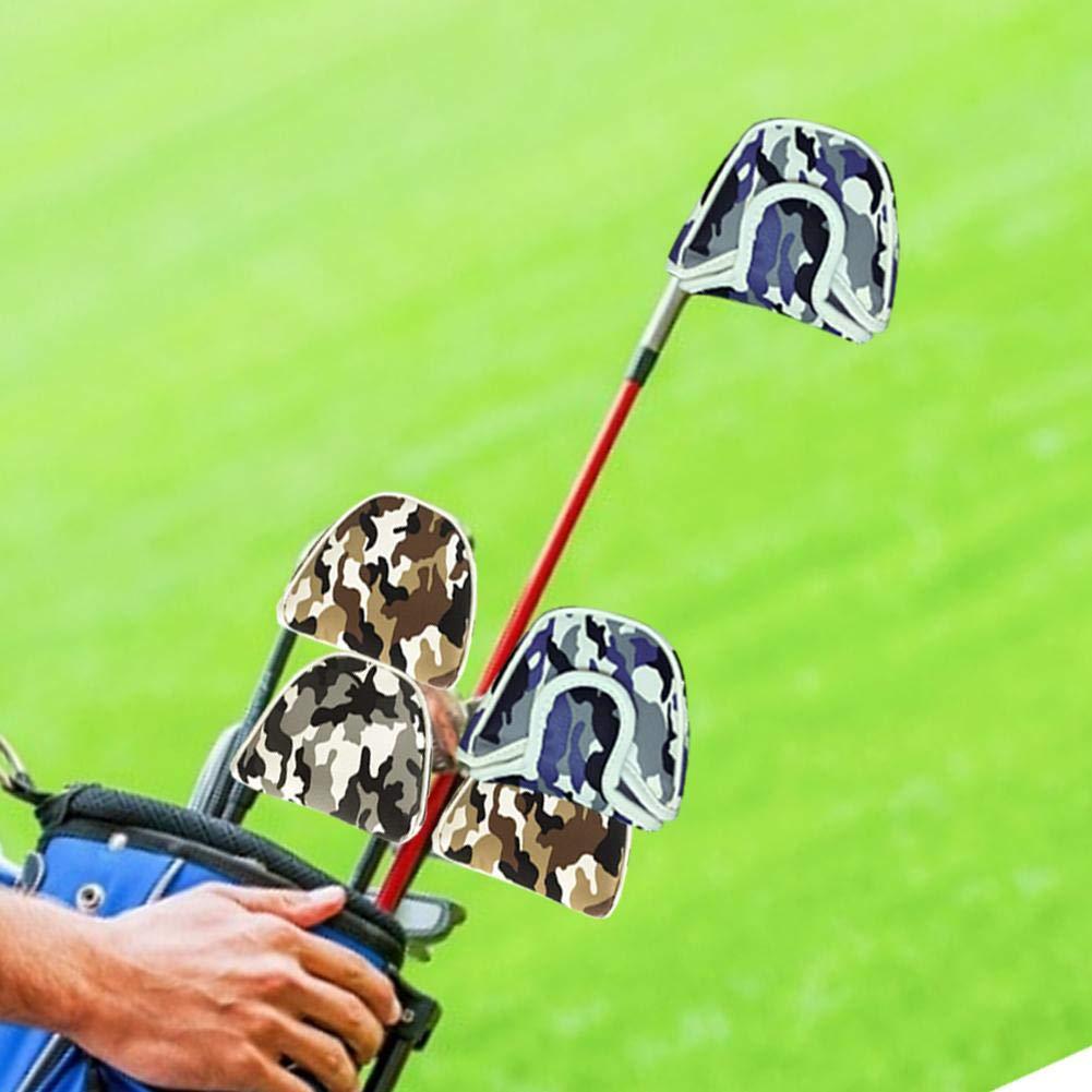 youngfate Fundas para La Cabeza De Hierro De Golf Camuflaje ...