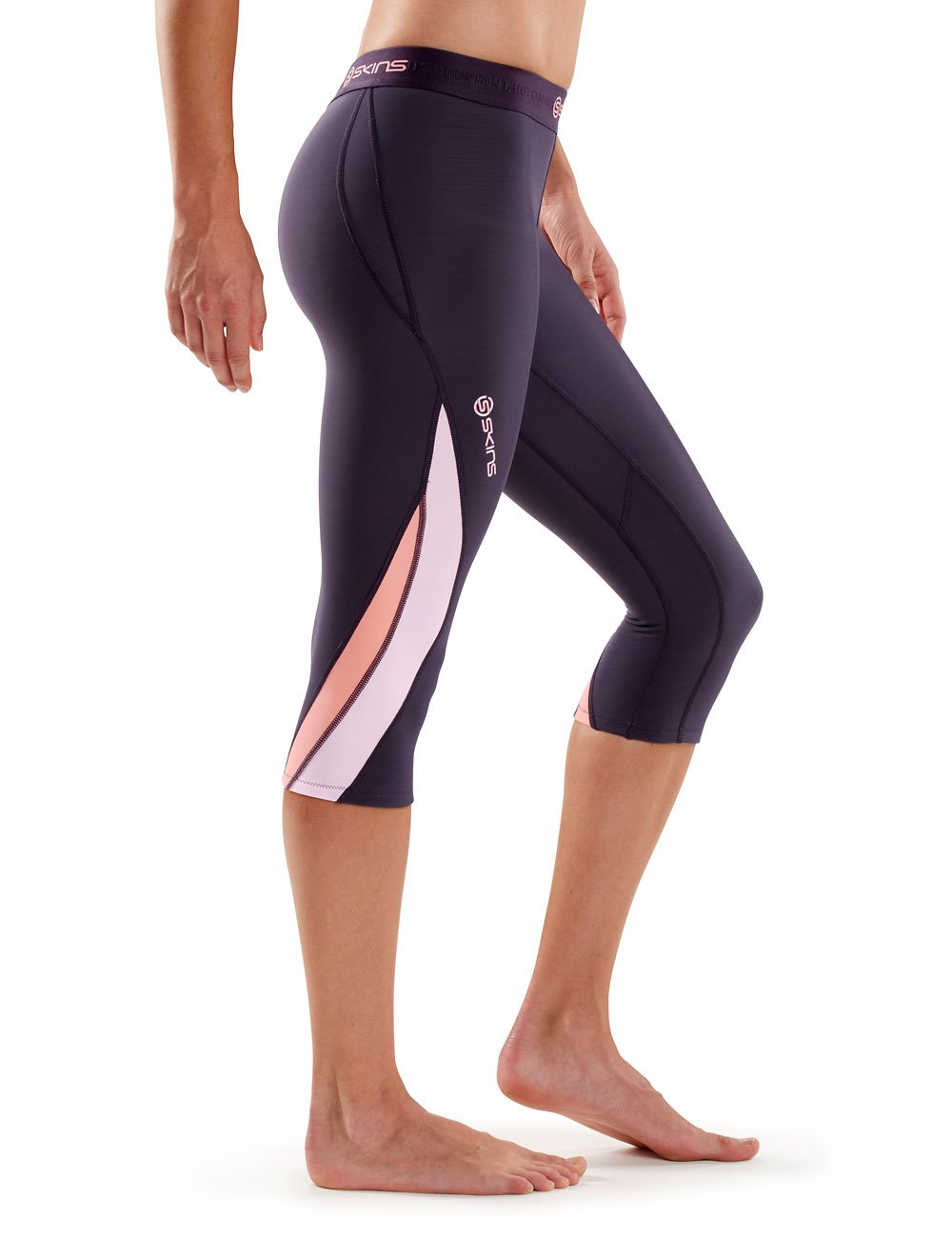 Skins Womens DNAmic Thermal 3//4 Capri Compression Tights Skins North America DT00020080-P