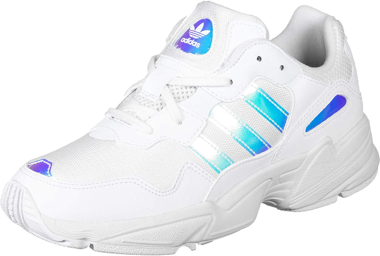 adidas Sneakers Bambino Yung 96 J EE6737 (37 1-3 - FTWWHT-FTWWHT-CBLACK)