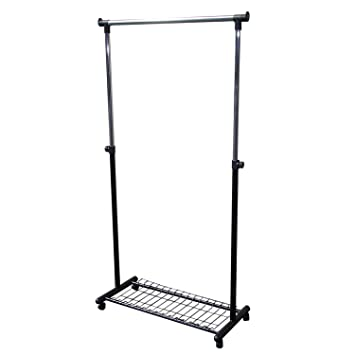 Ordinaire Adjustable Garment Coat Rack With Wheels, Heavy Duty New