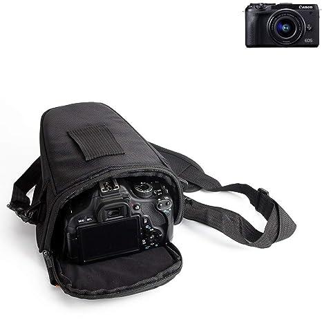 K-S-Trade® Para Canon EOS M6 Mark II: Bolsa per Camera DSLR ...