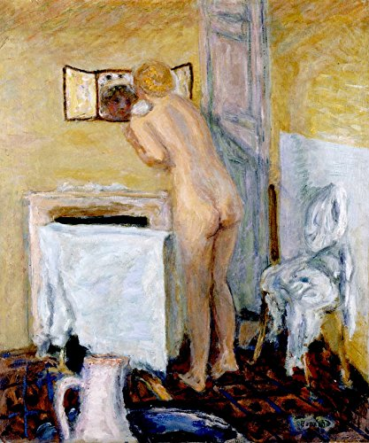 Pierre Mirror - Pierre Bonnard Nude Before The Mirror ~ Bather Private Collection 30