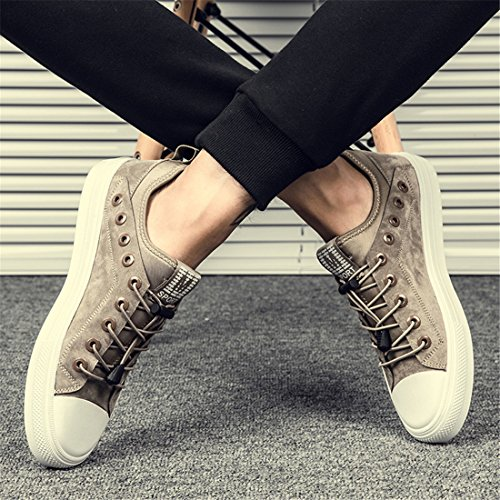 Sport Running Casual Lightweight Sneakers Shoes Mens Walking Khaki Outdoor Z038 wq1E65