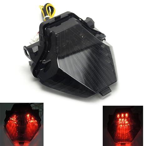 Amazoncom FZ 07 Integrated Tail Lights LED Turn Signals Blinker
