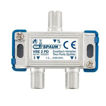 Spaun VBE 6/PD Verteiler 6-Way