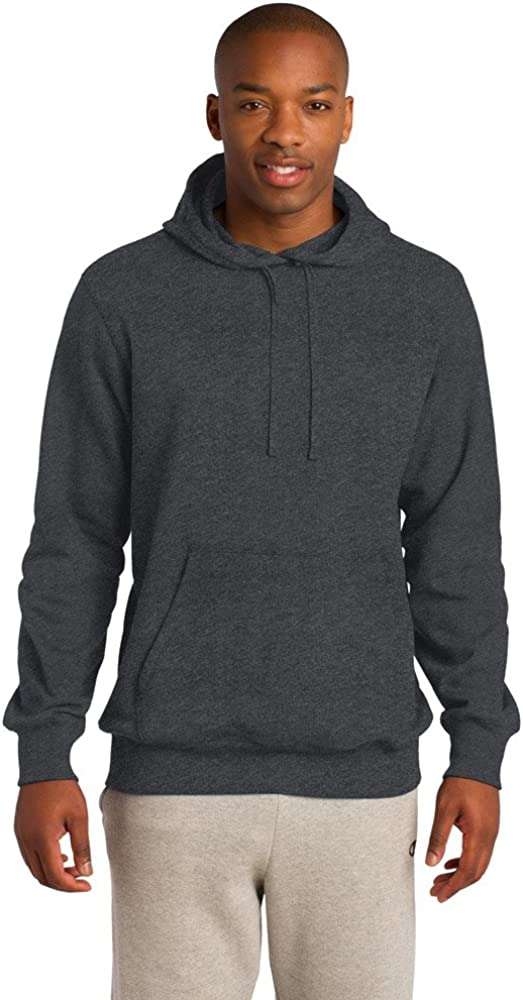 Sport-Tek Mens Tall Pullover Hooded Sweatshirt