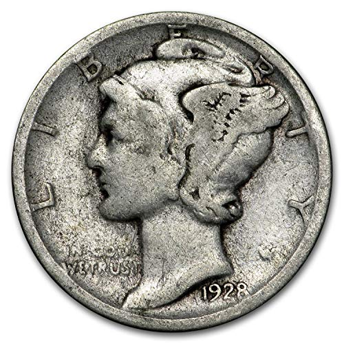1928 S Mercury Dime Good/Fine Dime Good