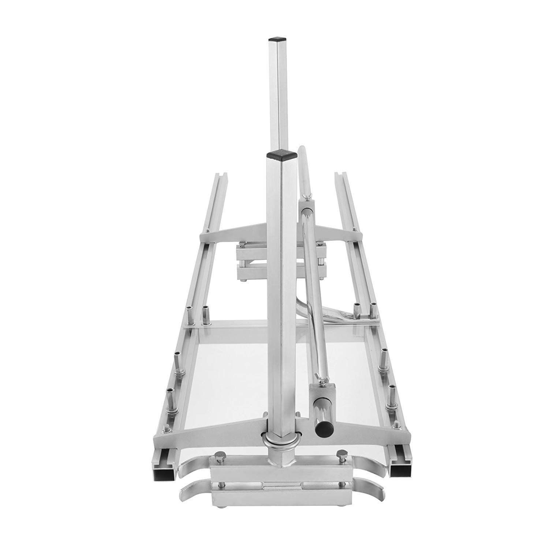 HUKOER Kettens/ägewerk 48 Zoll Tragbare Kettens/ägewerk Aluminiumstahl Mig Schwei/ßen S/ägem/ühle 18-48 Planking Lumber Cutting Bar Zolleinheit