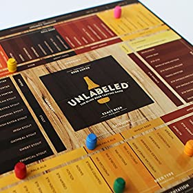 Unlabeled – The Blind Beer Tasting Board Game: Put Your Taste Buds to The Test and Play at Hom
