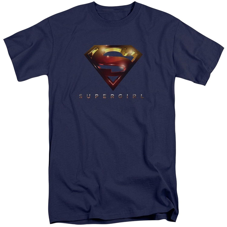 SuperGirl Men's Logo Glare Tall T-Shirt