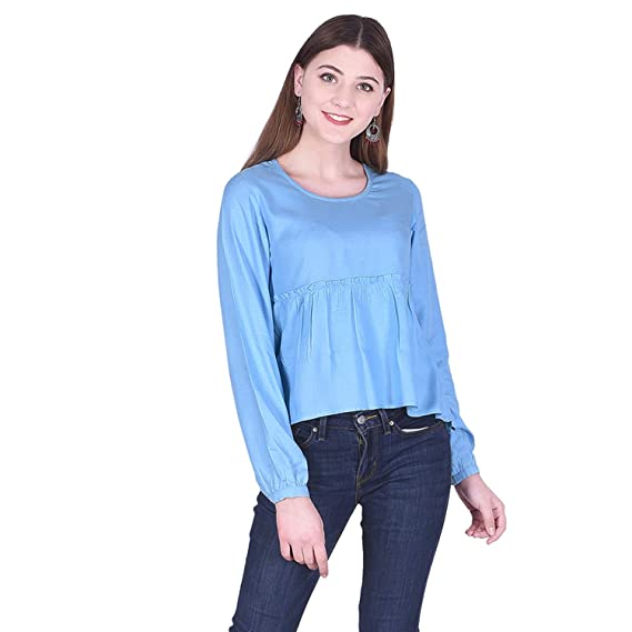 Buy Created in India Solid Top with Full Sleeves for Regular