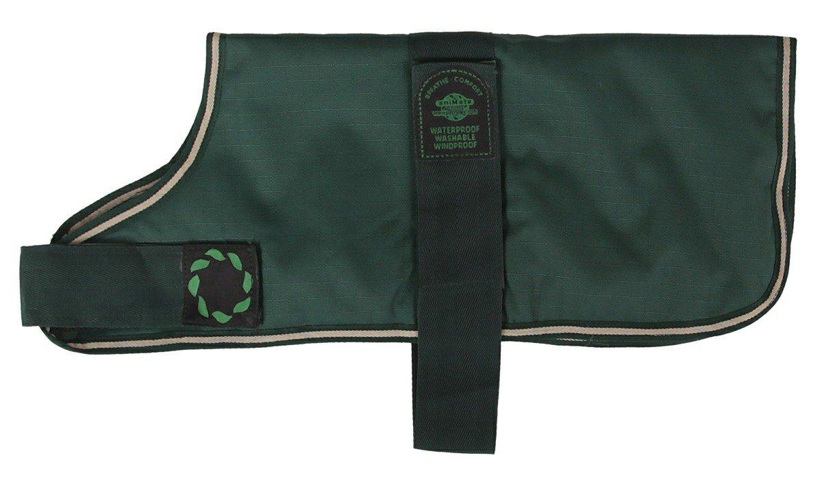 Bottle Green 16.1in Bottle Green 16.1in Waterproof Dog Coat Padded Lining Maroon 16