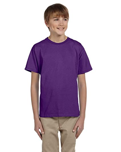 c4c0c306 Amazon.com: Gildan Youth Ultra Cotton T-Shirt: Clothing
