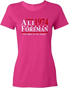 Baku Apparel Boxing Ali - Foreman The Rumble in The Jungle Crewneck T-Shirt