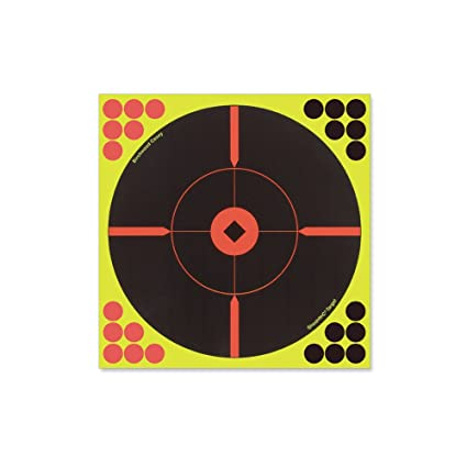 photograph about Printable Bullseye Target identify Shoot-NC 12 Inch Bullseye Goals - 5 Depend Pack With 120 Pasters