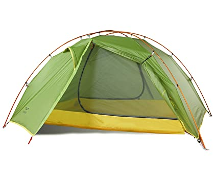 MIER 2 Person Outdoor C&ing Tent 3 u0026 4 Season Waterproof Backpacking Tent Lightweight Double  sc 1 st  Amazon.com & MIER 2-Person Backpacking Tent Easy Setup Lightweight Tent with Footprint 3 Season u0026 4 Season Dome Tent
