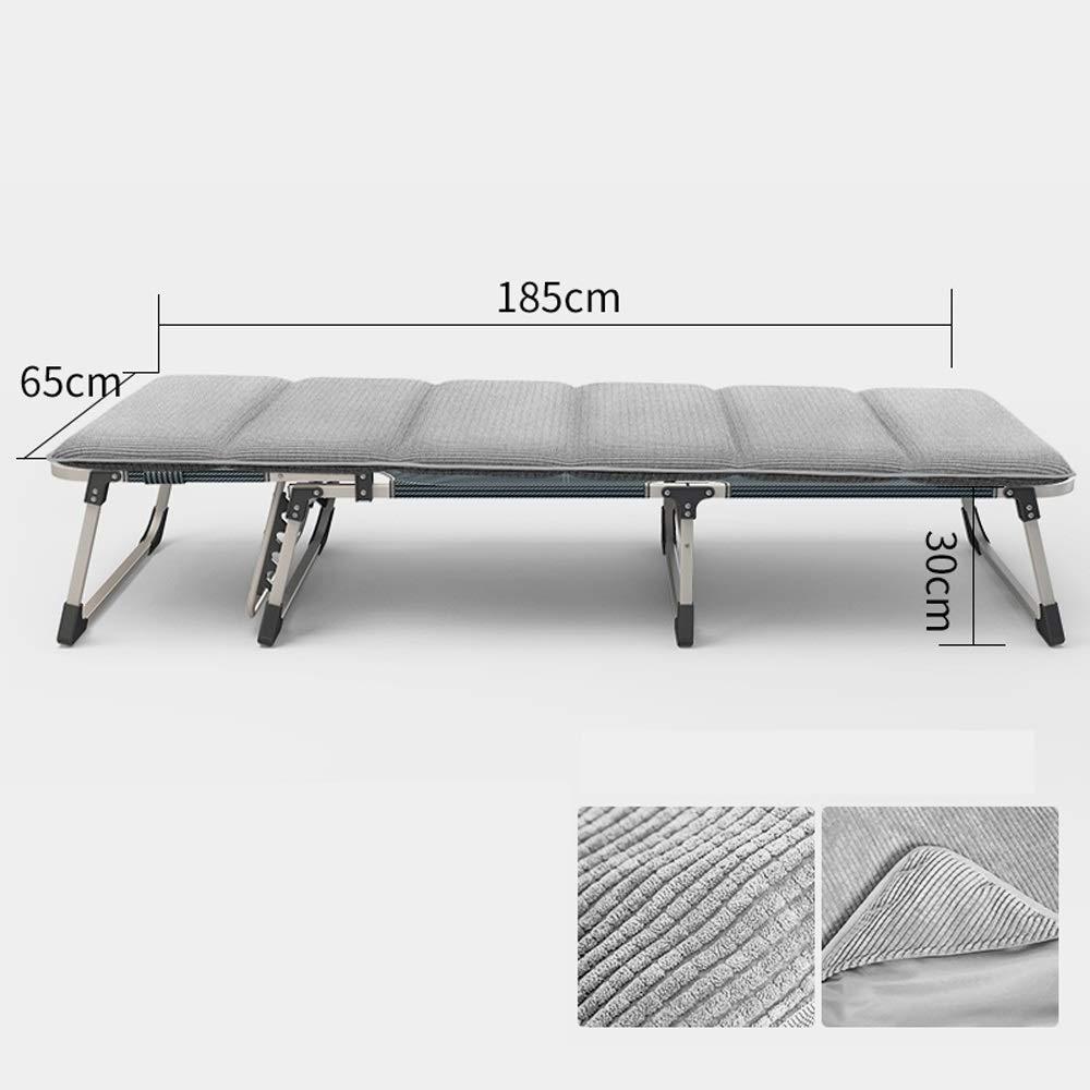 Easty Letti pieganti multifunzionali per gli adulti con il letto singolo del materasso del materasso del letto di ufficio della rottura della sedia pieghevole del letto della sedia del salotto della f Prezzi offerte