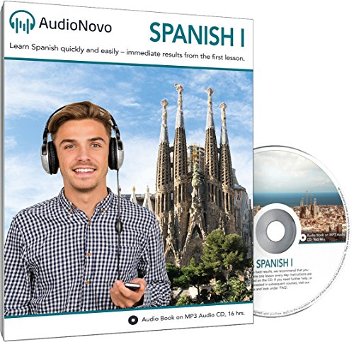 Price comparison product image Spanish for Beginners: The Quick and Easy Way to Learn Spanish in Only 30 Minutes a Day. Learn Spanish or Get Your Money Back with Our 60 Day Guarantee! (AudioNovo Spanish 1 Audio CD)