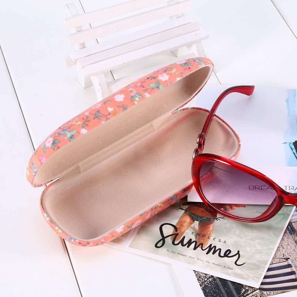 Estuche de Gafas Protectoras para Gafas de Sol con dise/ño de Caja de Gafas Protectoras