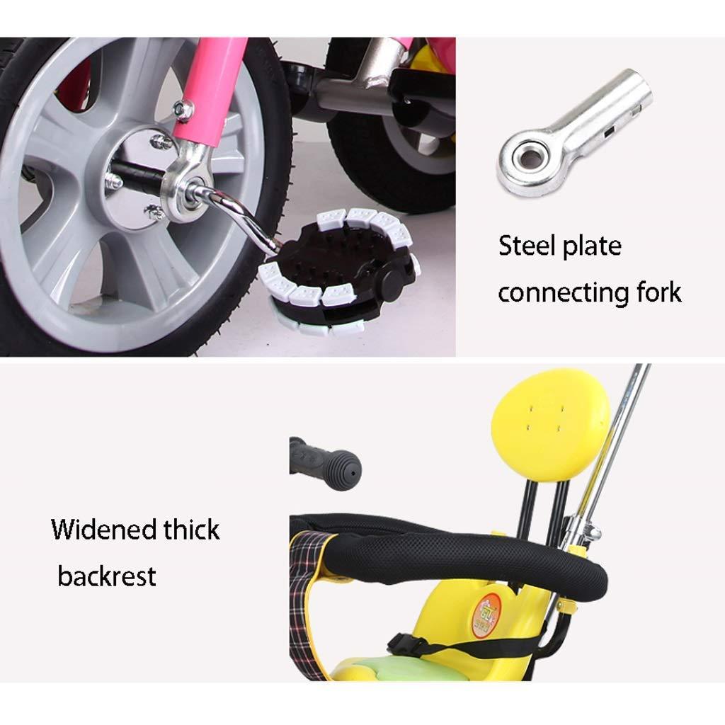 Amazon.com: ZLMI - Bicicleta infantil con tríptico de tres ...