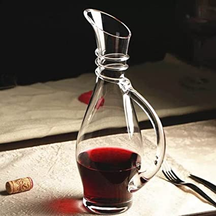 Jarra De Vino,Un Dispensador De Vino Con Asa,Vino De Vidrio Creativo