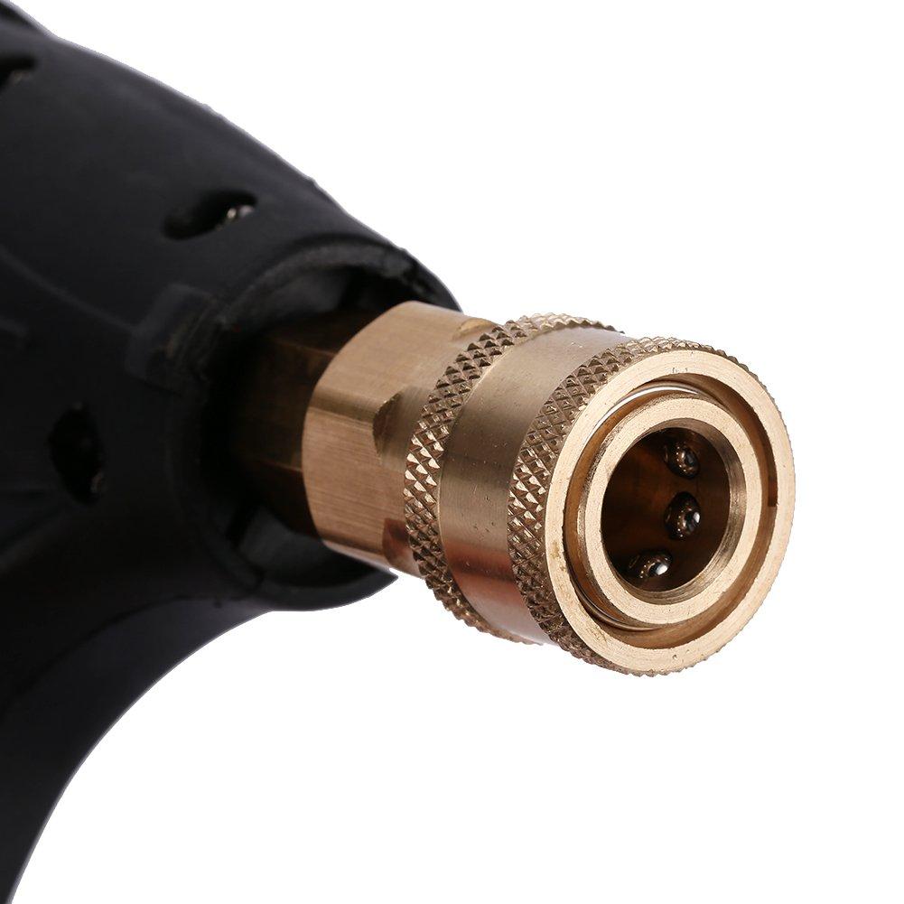 Pistola de espuma de presión ajustable para pistola de coche a presión, espuma de nieve, adaptador de arandela para Karcher Lance Cannon Espuma Blaster: ...