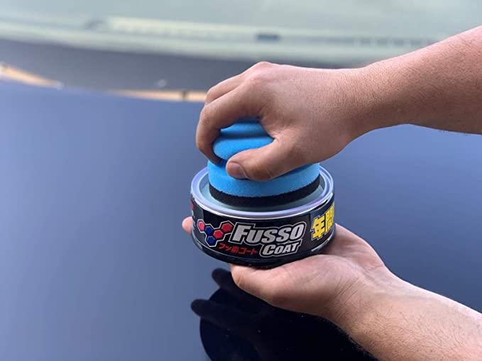 Soft99 The New Fusso Coat 12m Dark Versiegelung Inkl Pad Dft Microfasertuch Auto