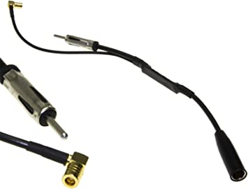 DAB + Antena Splitter Adaptador para radio de coche JVC ...