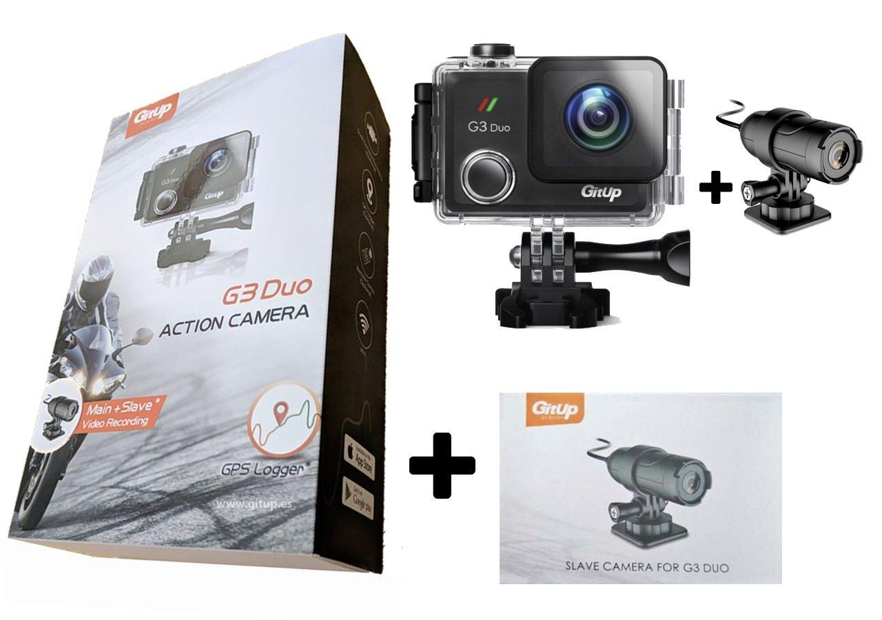 Pack Camaras Gitup G3 Duo Pro Packing + cámara Secundaria ...