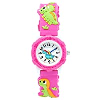 Kids Watch for Boys Girls, Cute Waterproof Childs Toy Teaching Watches, 3D Time Teacher Todder Cartoon Watch, Best Gift for Childrens by ARPDJK