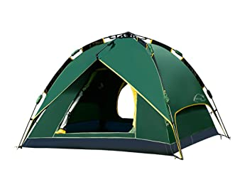 Automatic All Weather 2in1 C&ing Tent 3-4 Person Hiking Tent  sc 1 st  Amazon.com & Amazon.com : Automatic All Weather 2in1 Camping Tent 3-4 Person ...