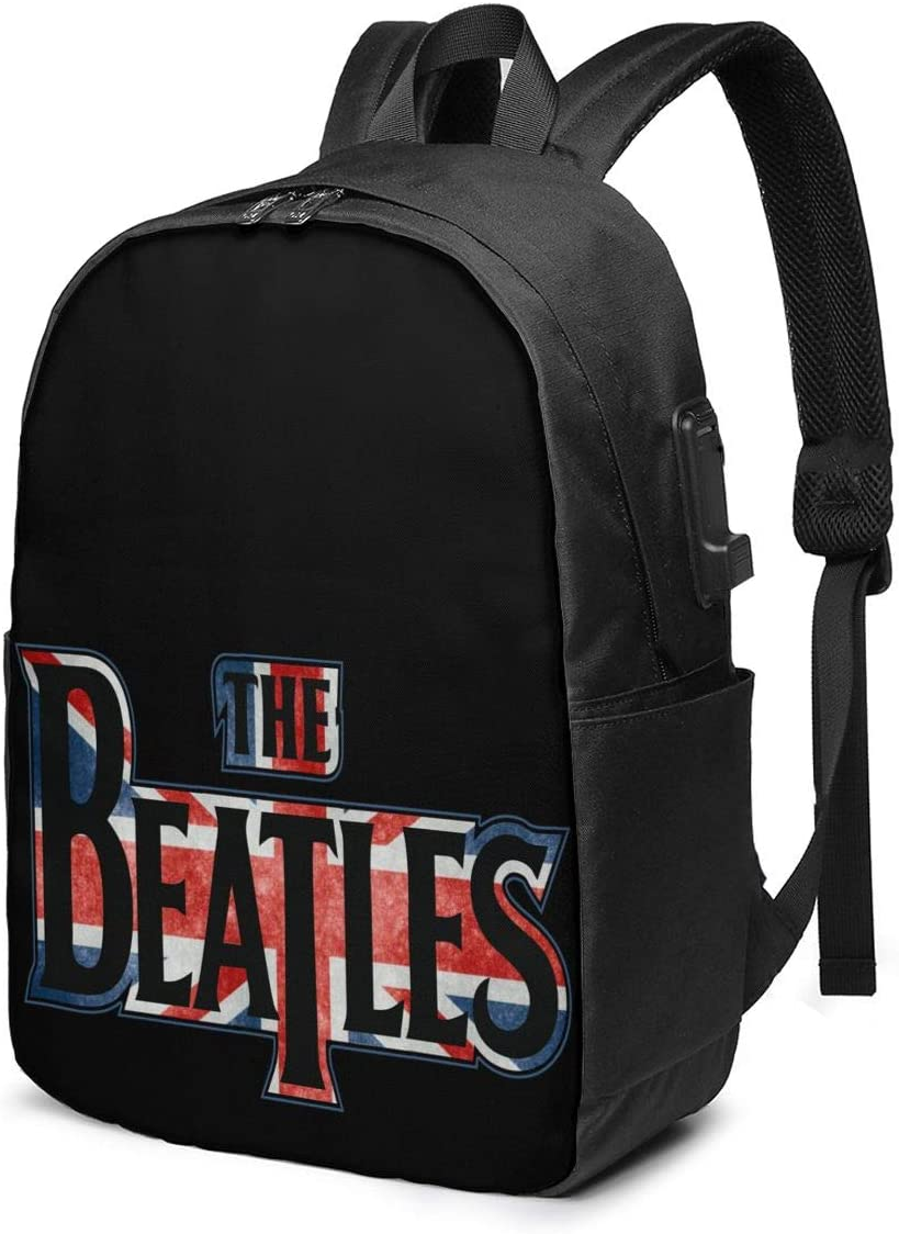 School Bag Personalized Backpack The BeatlesClassic Lightweight Fashion Travel Backpack Unisex Office Bag