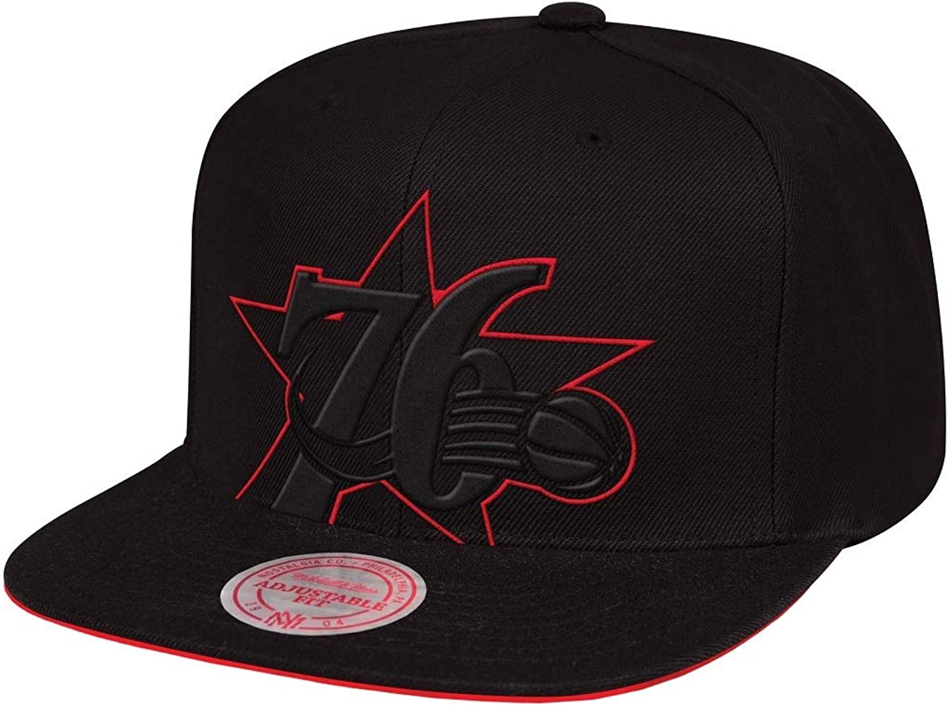 Mitchell & Ness Cropped XL Philadelphia 76ers - Gorra, Color Negro ...