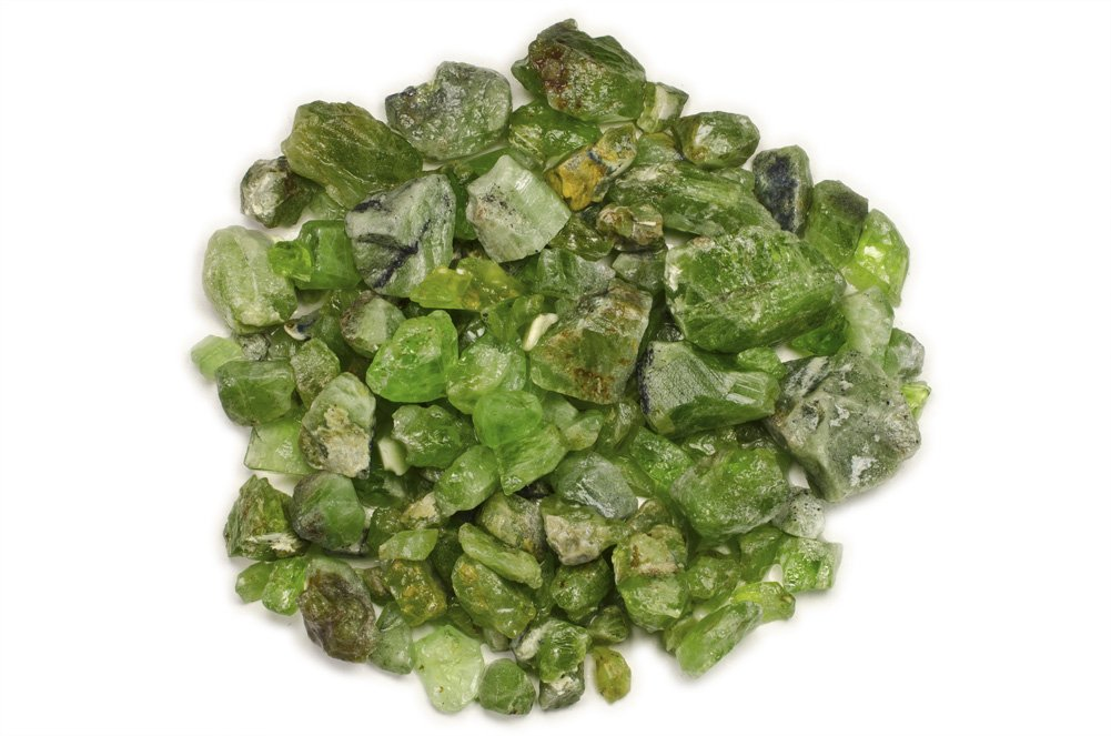 Hypnotic Gems Materials: 5 lbs Rough Bulk Peridot Stones from Pakistan - Raw Natural Crystals for Cabbing, Tumbling, Lapidary, Polishing, Wire Wrapping, Wicca & Reiki Crystal Healing by Hypnotic Gems