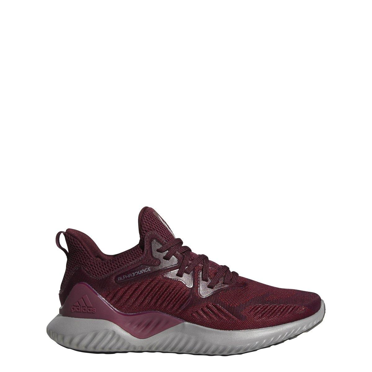 adidas Alphabounce Beyond Team Shoe Men's Running B077XNZRN2 15 D(M) US|Maroon/White/Black
